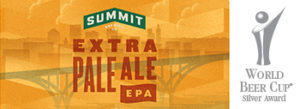 Summit EPA World Beer Cup Award