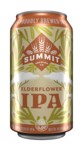 Summit Elderflower IPA 12oz Can Mock-Up