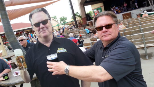 Summit Brewing Co. Founder & President Mark Stutrud at the Minnesota State Fair.