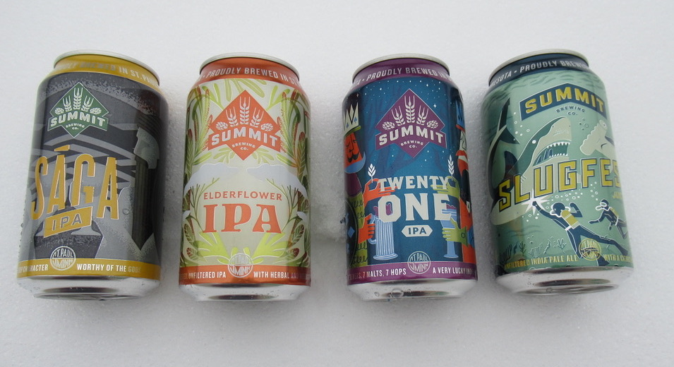 Four Beers in Mixed Pack IPA Edition