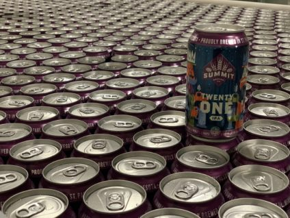 Lots of Cans of Twenty-One IPA
