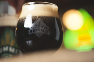 Summit Beer in tulip glass