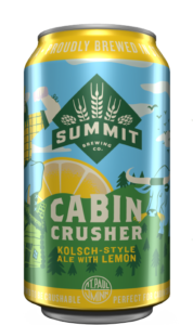 Cabin Crusher Kölsch-Style Ale with Lemon found in the Summit CRUSHER Soulmates Combo Pack