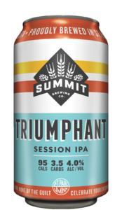 Mock-up of 12oz can of Summit Triumphant Session IPA
