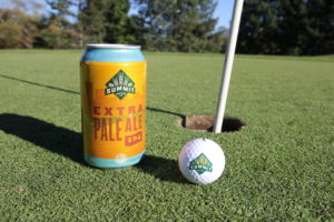 Summit Extra Pale Ale on Golf Course for Father's Day