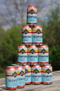 Triumphant Session IPA Can Pyramid