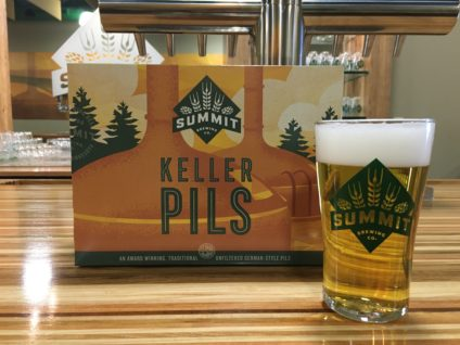 Summit Keller Pils Pour Shot & 12pk Can Carton