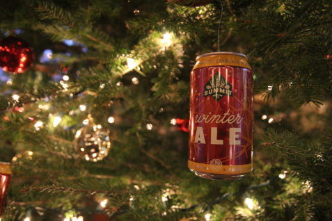 Summit Winter Ale 12oz Can in Tree