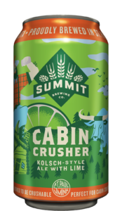 Summit Cabin Crusher Kölsch-Style Ale with Lime 12oz Can