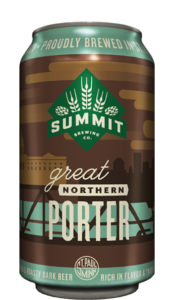 Summit Great Northern Porter 12oz Can found in 6-and-12pks and the Mixed Pack Best Of Edition