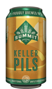 Summit Keller Pils 12oz Can found in 6-and-12pks and the Mixed Pack Best Of Edition