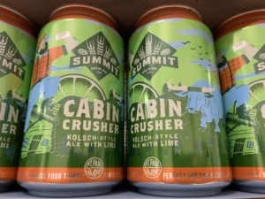 Summit Cabin Crusher Kölsch-Style Ale with Lime 12oz cans